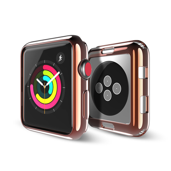 Electroplated TPU Case For Apple Watch Series 2/3 (1 Pack)