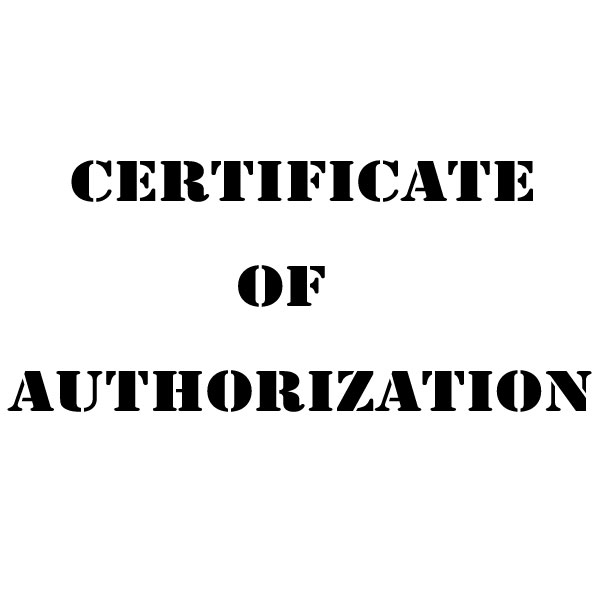 Is It Possible To Get DUX DUCIS Authorization Certificate?