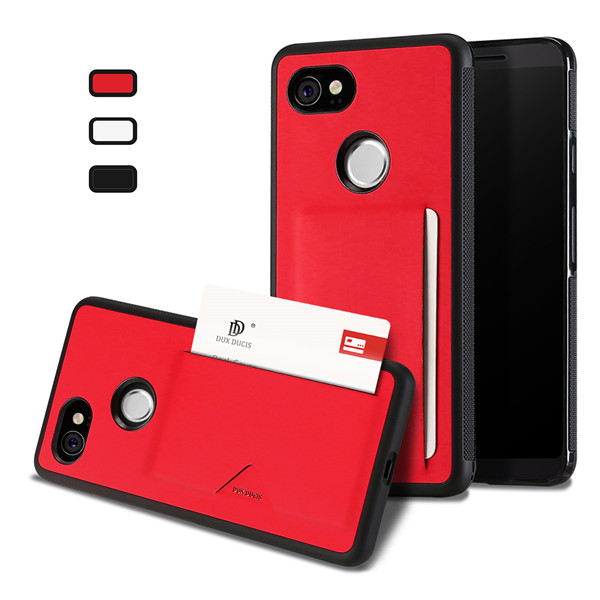 Pocard Series Back Cover for Google Pixel 2 XL