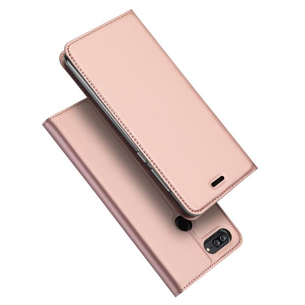 DUX DUCIS Cover Huawei Honor 9 Lite, Flip Caso Pelle PU Custodia con Funzione Stand, Slot Cart, Magnetica per Huawei Honor 9 Lite
