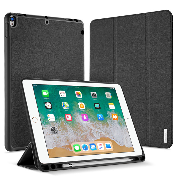 Domo Series Case for iPad Air 3 (2019) / iPad Pro 10.5 (With Apple Pencil Holder & Auto Sleep Wake)