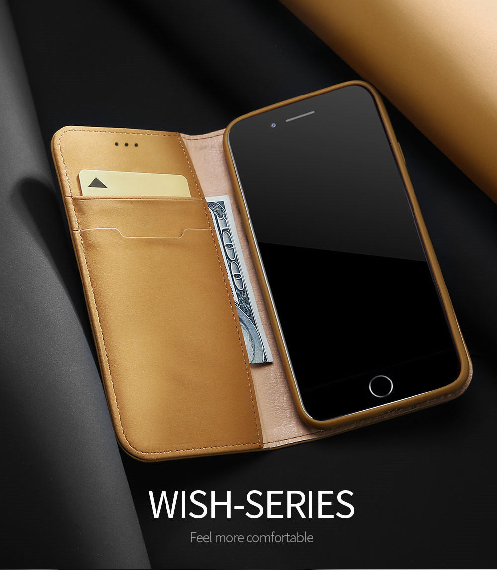 Wish Series Leather Case For Iphone 6 6s Phone Case Usb