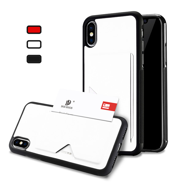 Pocard Series Back Cover for iPhone X / iPhone XS