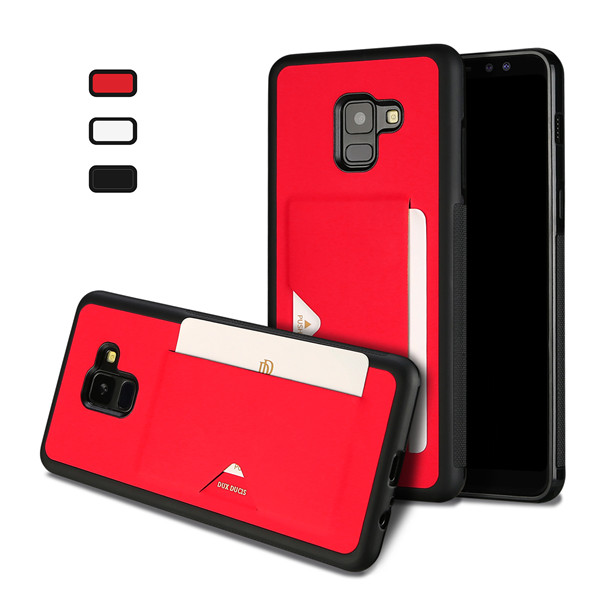 Pocard Series Back Cover for Samsung A8 2018