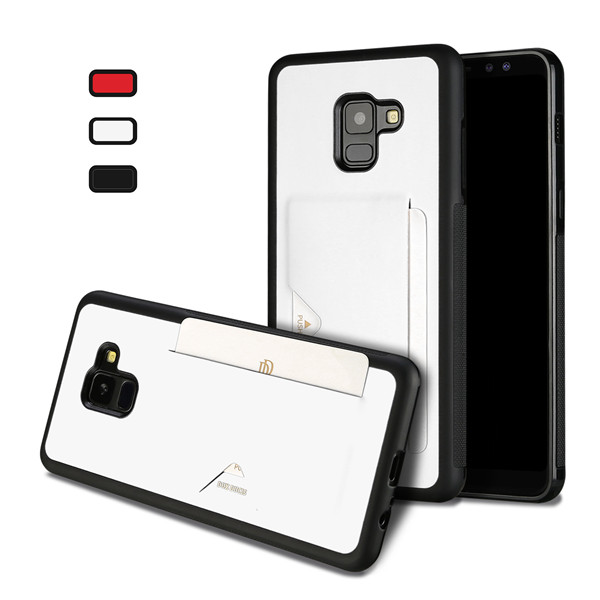Pocard Series Back Cover for Samsung A8 Plus 2018
