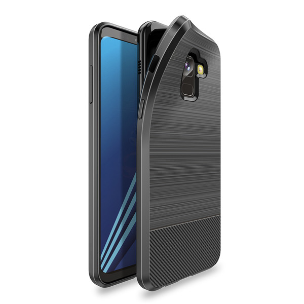 Mojo Series Back Case for Samsung A8 2018
