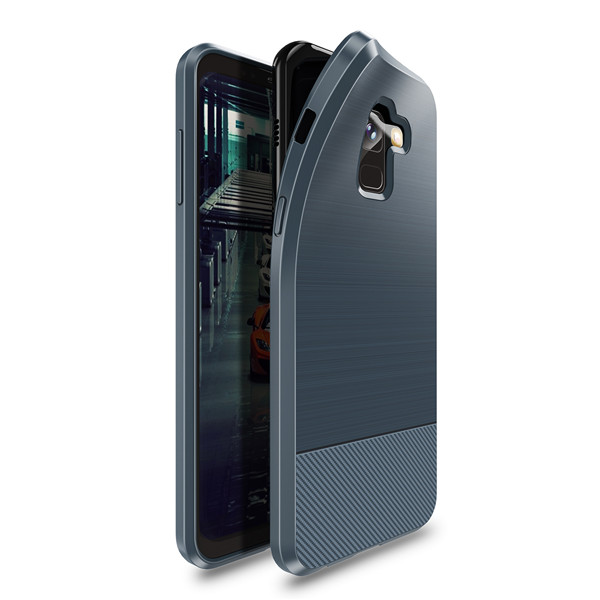Mojo Series Back Case for Samsung A8 Plus 2018