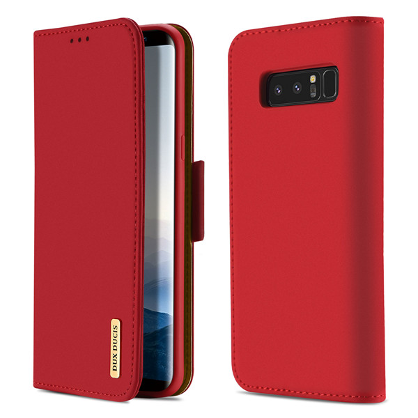 Wish Series Leather Case for Samsung Note 8