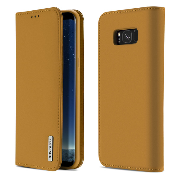 Wish Series Leather Case for Samsung S8