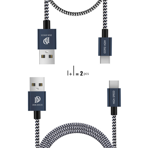 KII Series USB C Cable (20cm & 100cm Together)