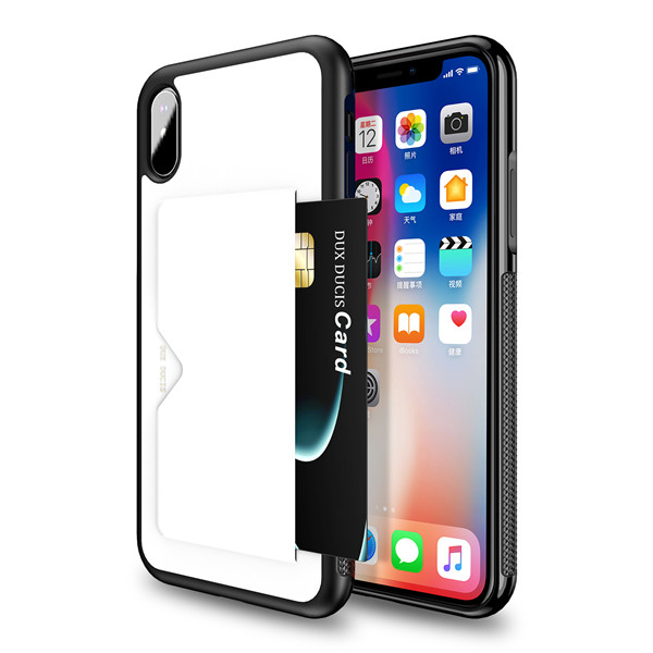 Pocard Series Back Cover for iPhone XS MAX