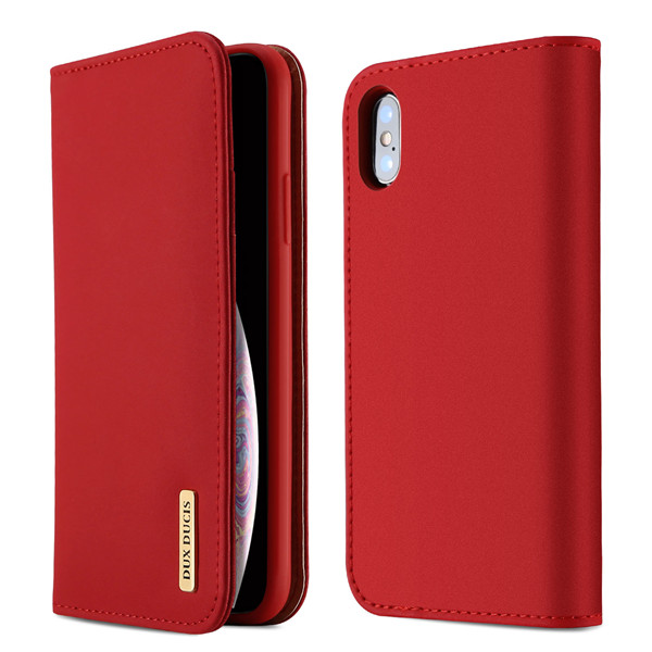 Wish Series Leather Case for iPhone XS MAX (Auto Sleep Wake)