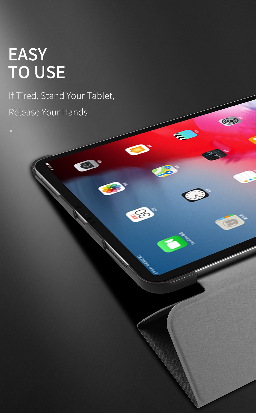 Domo Series Case for iPad Pro 11 Auto Sleep Wake Phone