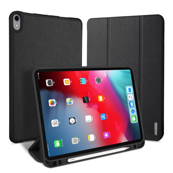 Domo Series Case for iPad Pro 12.9 2018 (With Apple Pencil Holder & Auto Sleep Wake)