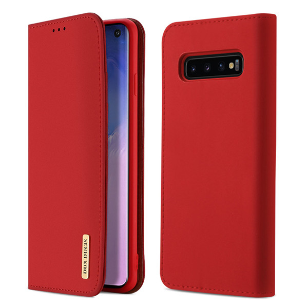 Wish Series Leather Case for Samsung S10