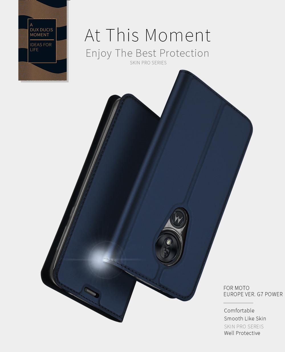 Skin Pro Series Case For Moto G7 Power For Europe Phone